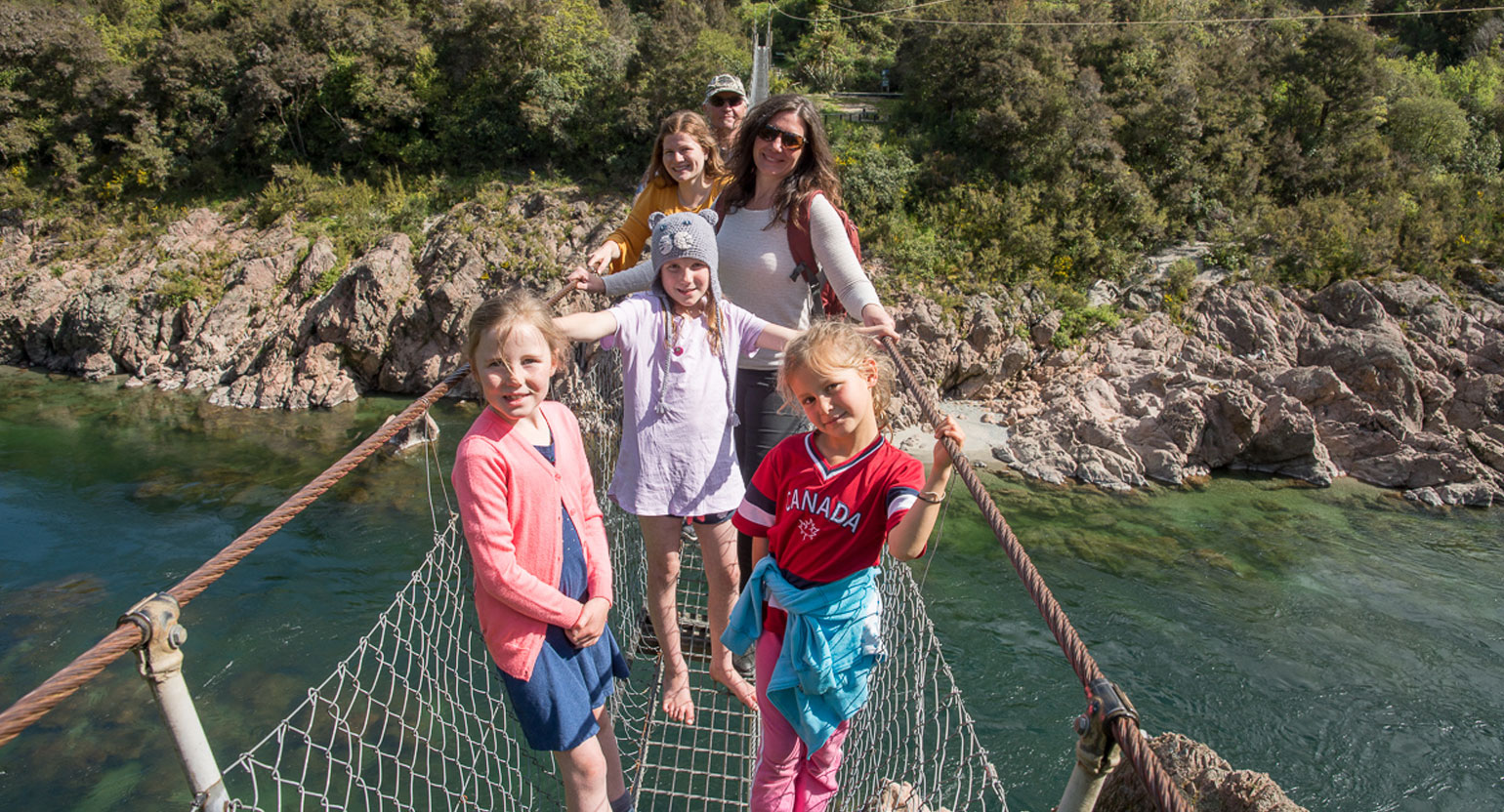 The Buller Gorge Swingbridge Adventure and Heritage Park
