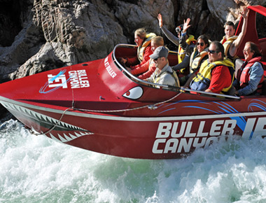Buller Canyon Jetboat Thrill Rides